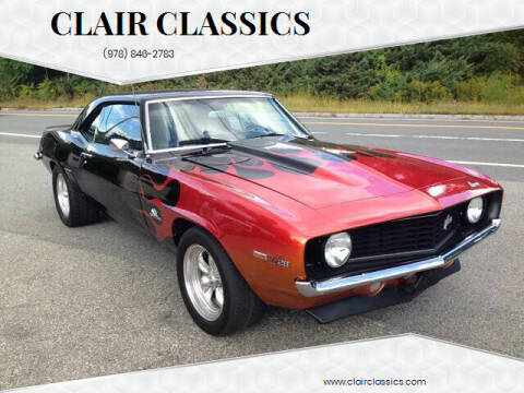 1969 Chevrolet Camaro Z28 for sale at Clair Classics in Westford MA