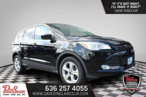2016 Ford Escape for sale at Dave Sinclair Chrysler Dodge Jeep Ram in Pacific MO