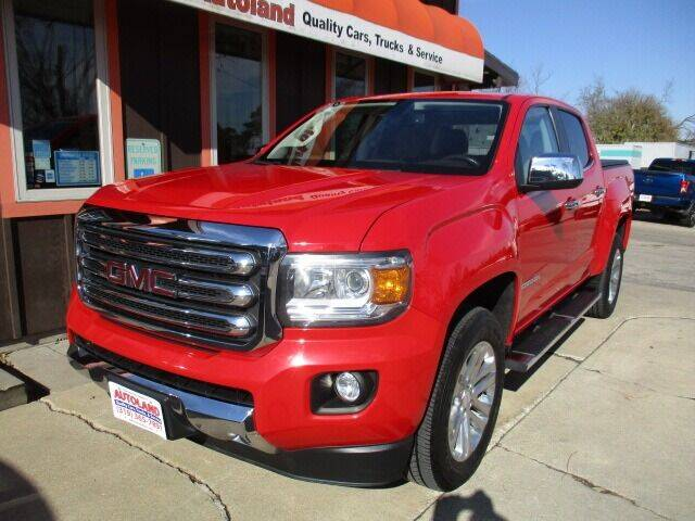 2015 GMC Canyon for sale at Autoland in Cedar Rapids IA