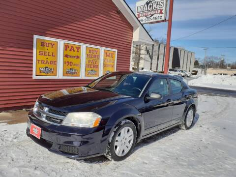 2011 Dodge Avenger for sale at Mack's Autoworld in Toledo OH