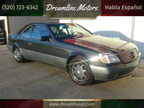 1995 Mercedes-Benz S-Class for sale at Dreamline Motors in Coolidge AZ