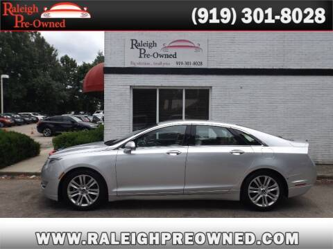 2014 Lincoln MKZ for sale at Raleigh Pre-Owned in Raleigh NC
