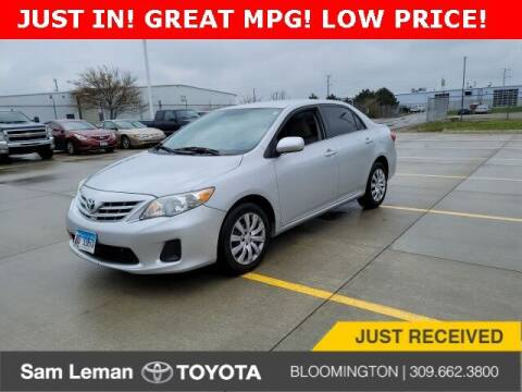 2013 Toyota Corolla for sale at Sam Leman Toyota Bloomington in Bloomington IL