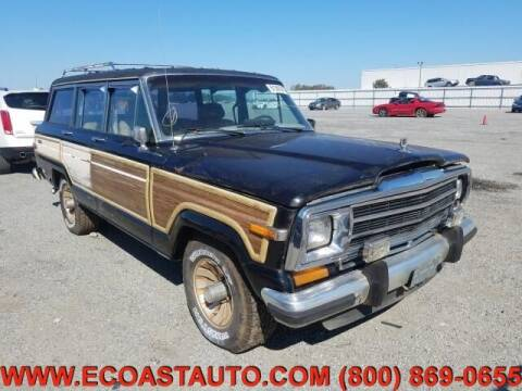 1987 Jeep Grand Wagoneer for sale at East Coast Auto Source Inc. in Bedford VA