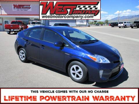 2013 Toyota Prius for sale at West Motor Company in Hyde Park UT