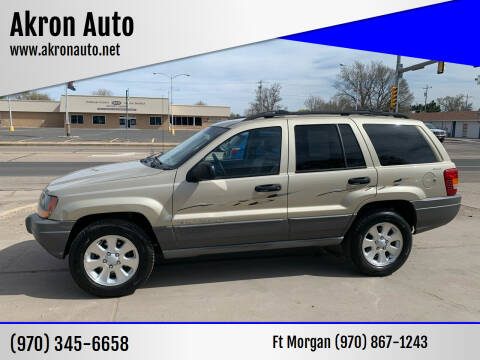 2001 Jeep Grand Cherokee for sale at Akron Auto - Fort Morgan in Fort Morgan CO