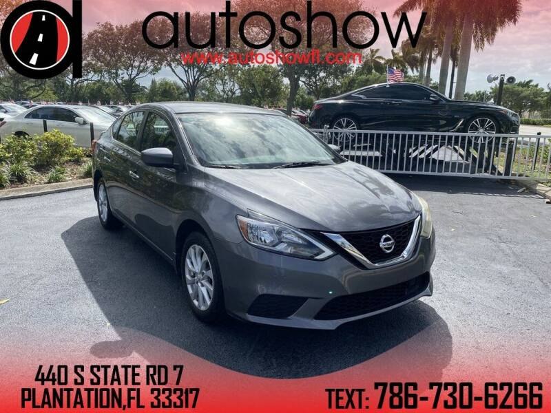 2018 Nissan Sentra for sale at AUTOSHOW SALES & SERVICE in Plantation FL