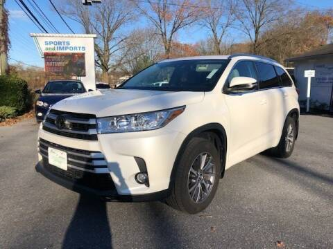 2017 Toyota Highlander for sale at Sports & Imports in Pasadena MD