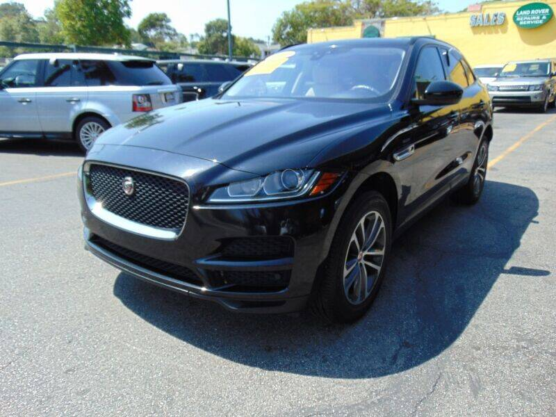 2017 Jaguar F-PACE for sale at Santa Monica Suvs in Santa Monica CA