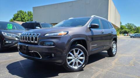 2014 Jeep Cherokee for sale at Sedo Automotive in Davison MI