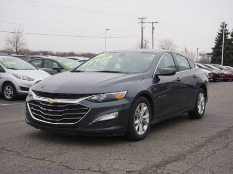 2020 Chevrolet Malibu for sale at FOWLERVILLE FORD in Fowlerville MI