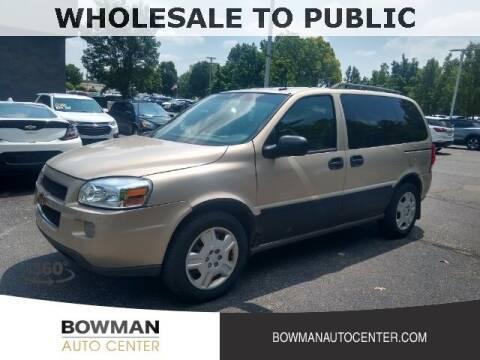 2009 Chevrolet Uplander for sale at Bowman Auto Center in Clarkston MI