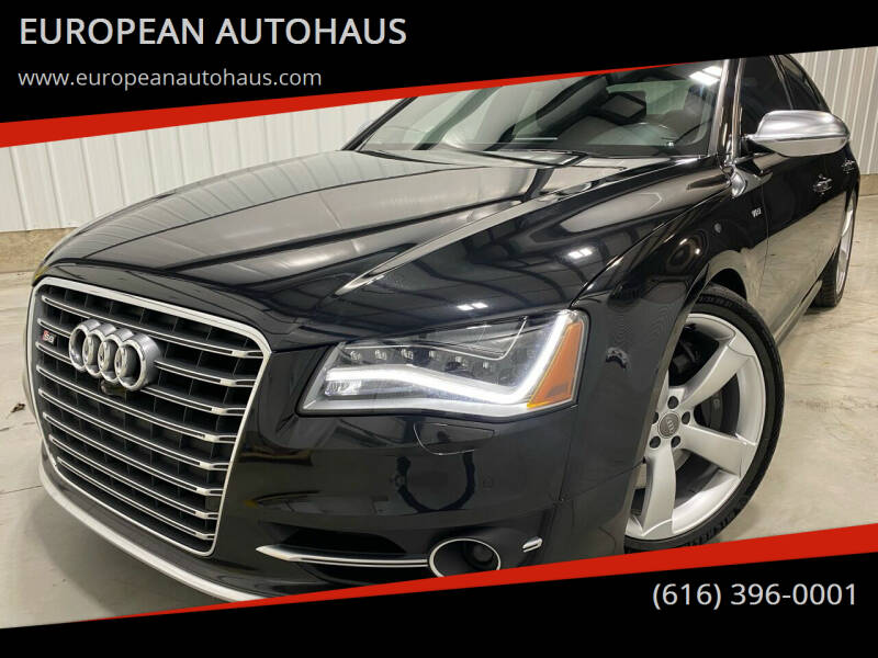 2014 Audi S8 for sale at EUROPEAN AUTOHAUS in Holland MI
