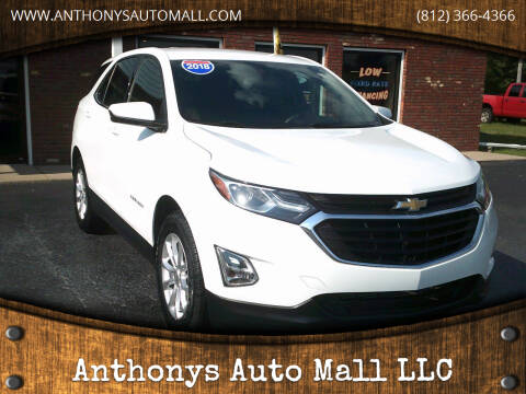 2018 Chevrolet Equinox for sale at Anthonys Auto Mall LLC in New Salisbury IN