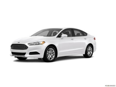 2013 Ford Fusion for sale at Carros Usados Fresno in Fresno CA