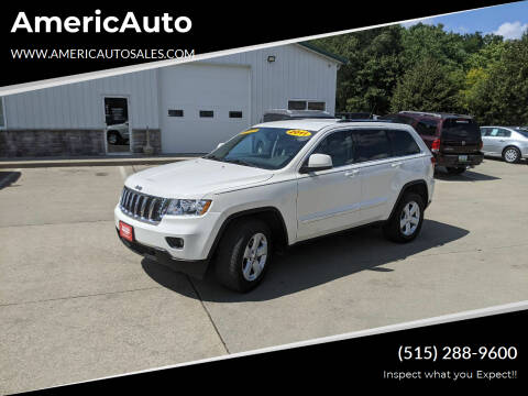 2011 Jeep Grand Cherokee for sale at AmericAuto in Des Moines IA