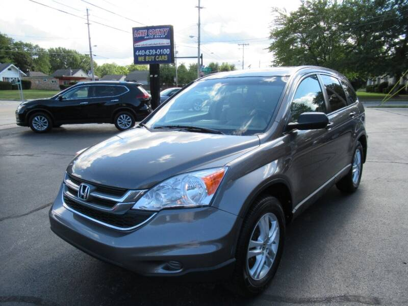 2010 Honda CR-V for sale at Lake County Auto Sales in Painesville OH
