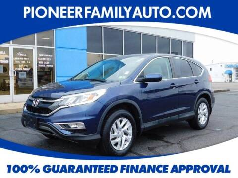 2016 Honda CR-V for sale at Pioneer Family auto in Marietta OH