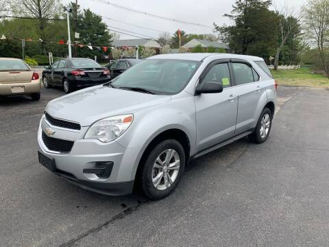 2010 Chevrolet Equinox for sale at Lux Car Sales in South Easton MA