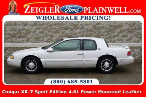 1997 Mercury Cougar for sale at Zeigler Ford of Plainwell- Jeff Bishop in Plainwell MI