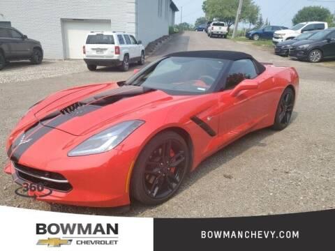 2018 Chevrolet Corvette for sale at Bowman Auto Center in Clarkston MI