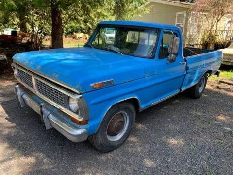 1970 Ford F-250 for sale at Classic Car Deals in Cadillac MI