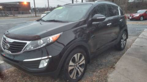2012 Kia Sportage for sale at IMPORT MOTORSPORTS in Hickory NC