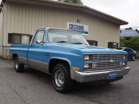 1984 Chevrolet C/K 10 Series for sale at Crestwood Auto Sales in Swansea MA