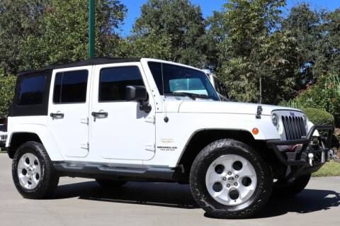 2014 Jeep Wrangler Unlimited for sale at SELECT JEEPS INC in League City TX