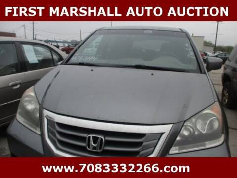 2009 Honda Odyssey for sale at First Marshall Auto Auction in Harvey IL