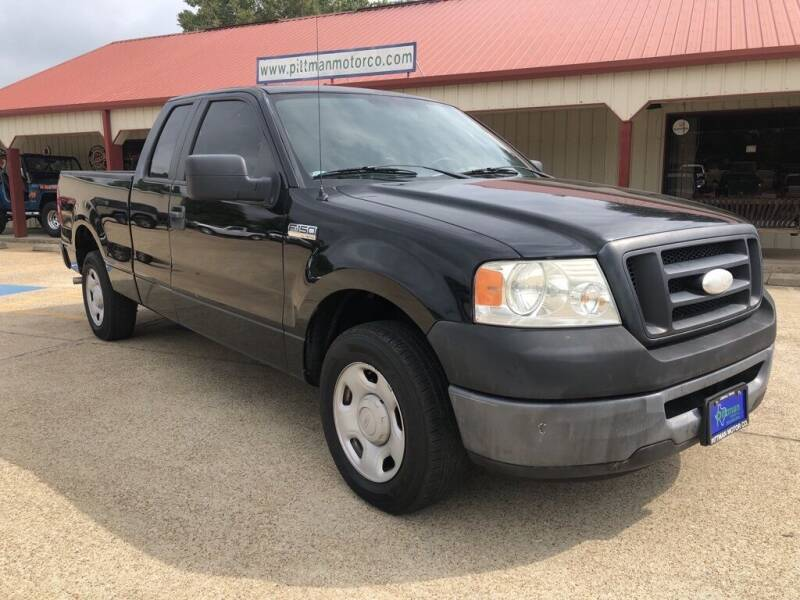 2007 Ford F-150 for sale at PITTMAN MOTOR CO in Lindale TX