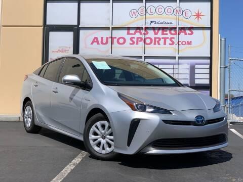 2019 Toyota Prius for sale at Las Vegas Auto Sports in Las Vegas NV