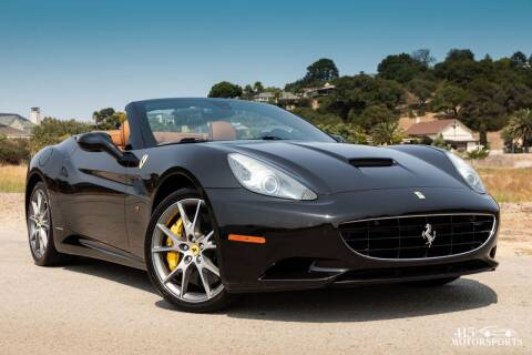 2011 Ferrari California for sale at 415 Motorsports in San Rafael CA