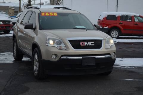 2008 GMC Acadia for sale at CARGILL U DRIVE USED CARS in Twin Falls ID