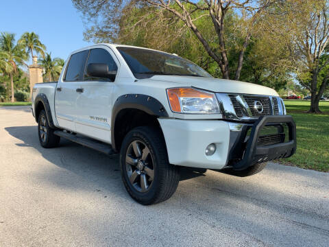 2015 Nissan Titan for sale at Nation Autos Miami in Hialeah FL