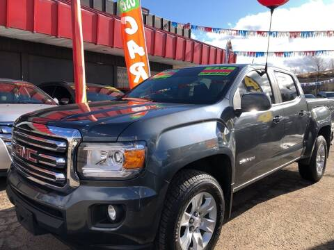 2015 GMC Canyon for sale at Duke City Auto LLC in Gallup NM