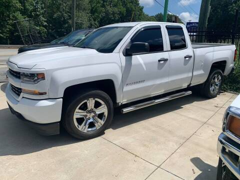 2016 Chevrolet Silverado 1500 for sale at Garcia Trucks Auto Sales Inc. in Austell GA