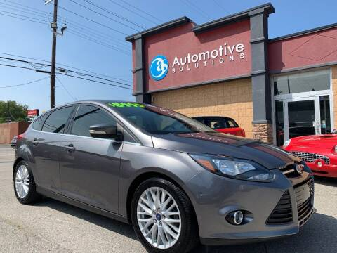2014 Ford Focus for sale at Automotive Solutions in Louisville KY