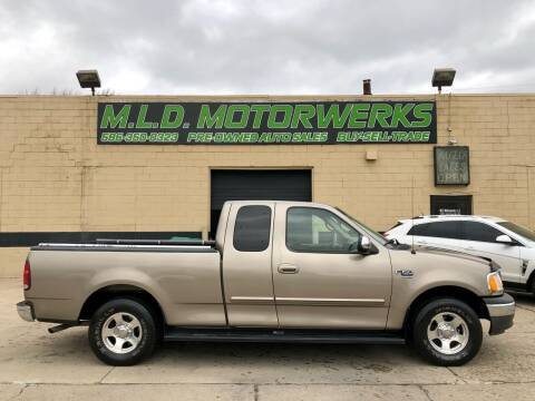 2002 Ford F-150 for sale at MLD Motorwerks Pre-Owned Auto Sales - MLD Motorwerks, LLC in Eastpointe MI