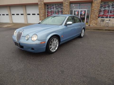 2008 Jaguar S-Type for sale at Iconic Motors of Oklahoma City, LLC in Oklahoma City OK