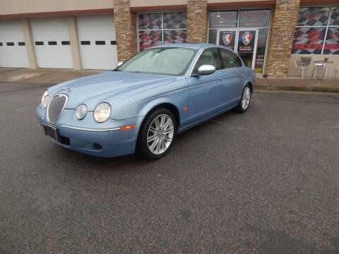 2008 Jaguar S-Type for sale at Iconic Motors of Oklahoma City, LLC in Oklahoma City OK