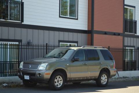 2003 Mercury Mountaineer for sale at Skyline Motors Auto Sales in Tacoma WA
