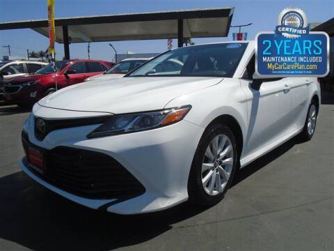 2018 Toyota Camry for sale at Centre City Motors in Escondido CA