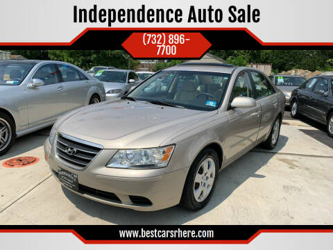 2009 Hyundai Sonata for sale at Independence Auto Sale in Bordentown NJ