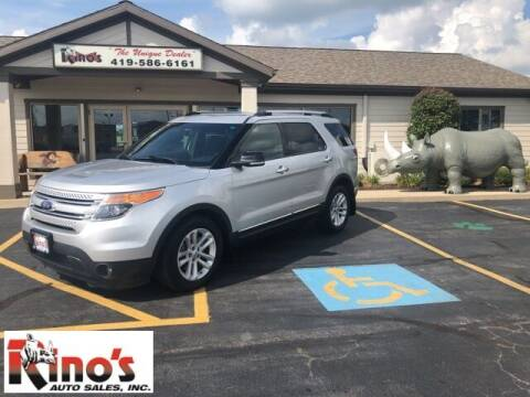 2014 Ford Explorer for sale at Rino's Auto Sales in Celina OH
