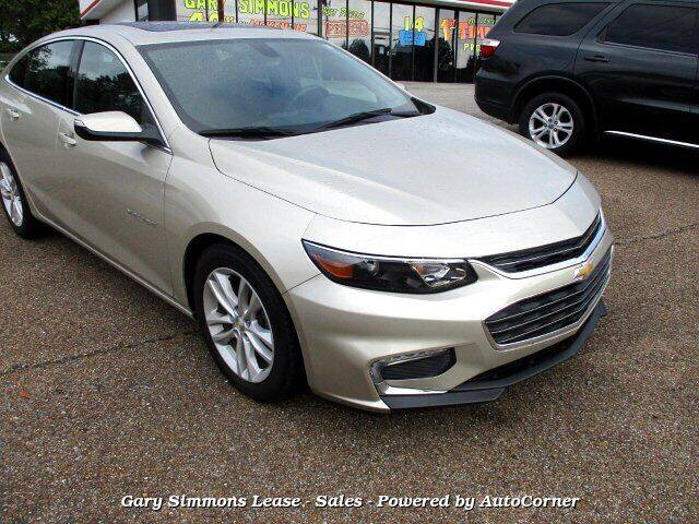 2016 Chevrolet Malibu for sale at Gary Simmons Lease - Sales in Mckenzie TN