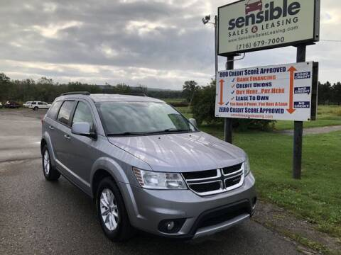 2017 Dodge Journey for sale at Sensible Sales & Leasing in Fredonia NY