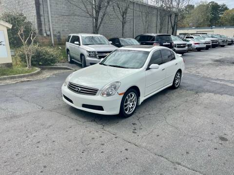 2006 Infiniti G35 for sale at Five Brothers Auto Sales in Roswell GA