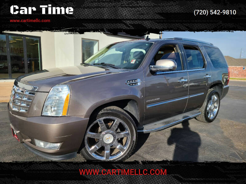 2011 Cadillac Escalade for sale at Car Time in Denver CO
