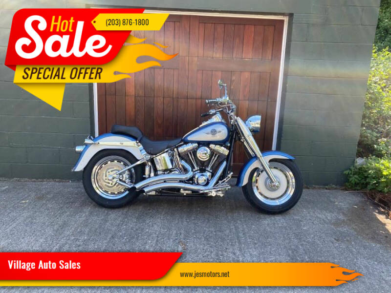 2005 Harley Davidson FATBOY for sale at Village Auto Sales in Milford CT